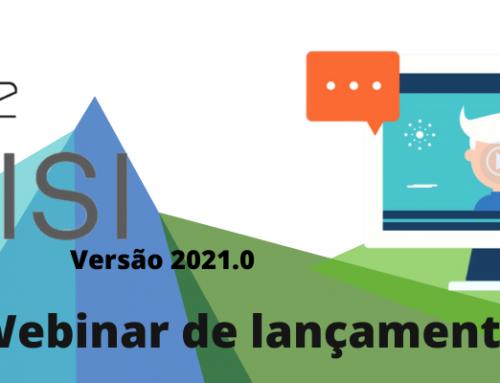 Webinar de Lançamento VISI 2021.0
